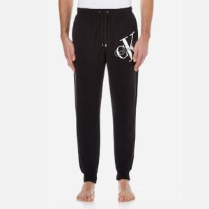 Calvin Klein Men's Large Logo Joggers - Black