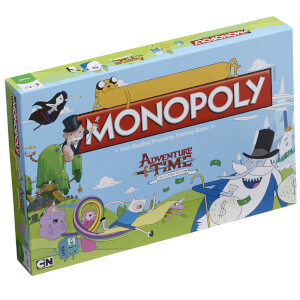 Monopoly Board Game - Adventure Time Edition