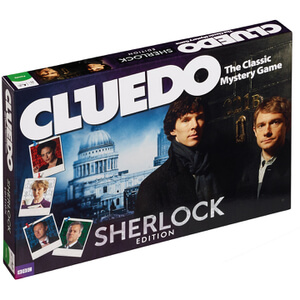 Cluedo Mystery Board Game - Sherlock Edition