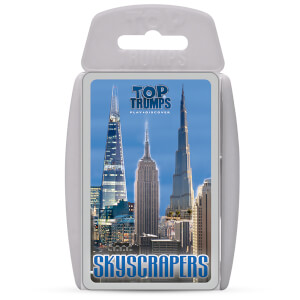 Top Trumps Card Game - Skyscrapers Edition