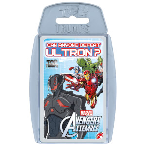 Top Trumps Card Game - Avengers Assemble Edition