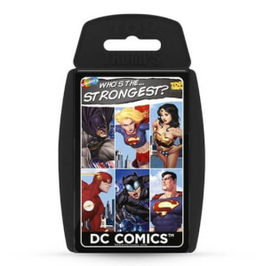 Top Trumps Card Game - DC Superheroes Edition