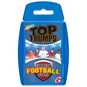 Top Trumps Card Game - Euro Football Stars Edition