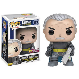 Batman: The Dark Knight Returns Unmasked Armored Batman Pop! Vinyl Figure - Previews Exclusive