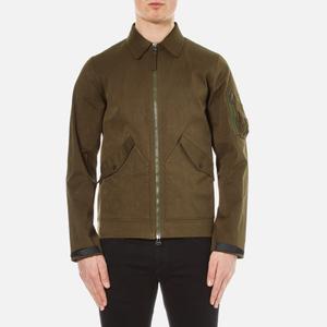 Maharishi Men's M93 Nylon Flight Jacket - Olive