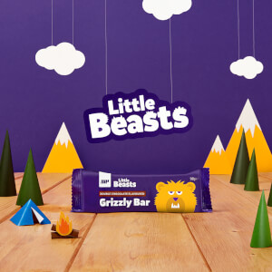 Little Beasts Grizzly Bar - 6 x 30g
