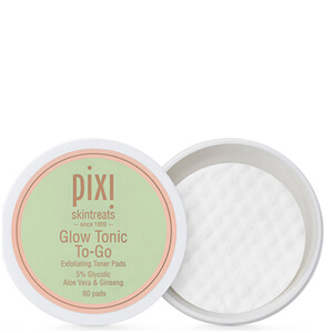 Disques Démaquillants Glow Tonic To-Go PIXI (pack de 60)