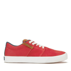 Supra Men's Stacks Vulc II Suede Trainers - Red