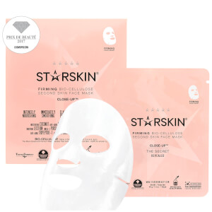 Mascarilla reafirmante de biocelulosa con coco Second Skin Close-Up™ de STARSKIN