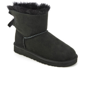 UGG Kids' Mini Bailey Bow Boots - Black: Image 2