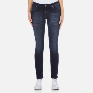 Nudie Jeans Women's Skinny Lin Jeans - Blackened Indigo