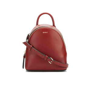 DKNY Women's Greenwich Mini Backpack - Scarlet