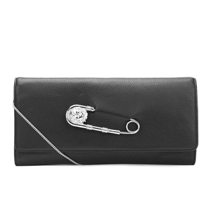 Versus Versace Women's Clutch Bag - Black/Nickel