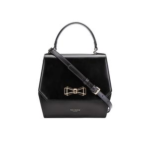 Ted Baker Women's Gerri Geometric Bow Top Handle Bag - Black