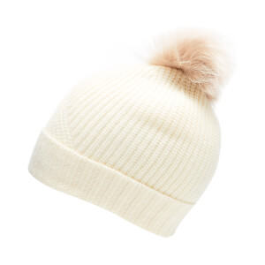 Woolrich Women's Soft Wool Hat - Frost White - M