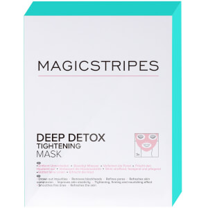 MAGICSTRIPES Deep Detox Tightening Mask x 3 φακελάκια