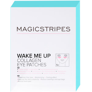 Patchs yeux collagène Wake Me Up MAGICSTRIPES x 5 sachets