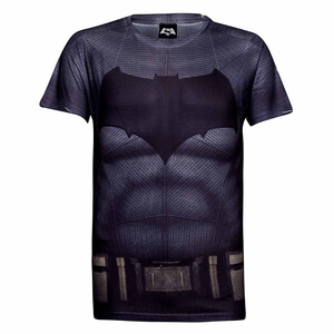 DC Comics Men's Batman Muscle T-Shirt - Grey: Image 1