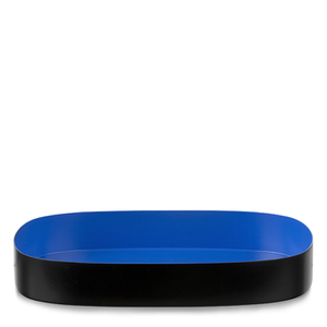 Design Letters Medium Tray - Blue
