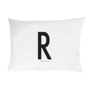 Design Letters Pillowcase - 70x50 cm - R