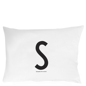 Design Letters Pillowcase - 70x50 cm - S