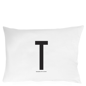 Design Letters Pillowcase - 70x50 cm - T