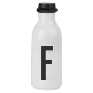 Design Letters Water Bottle - F