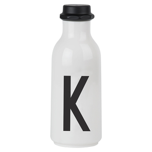 Design Letters Water Bottle - K