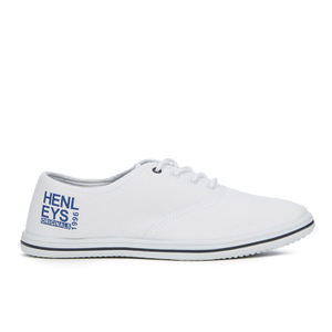 Henleys Men's Stash Canvas Pumps - White