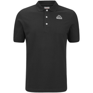 Kappa Men's Omini Polo Shirt - Black