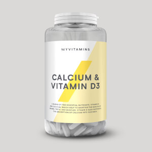 Calcium & Vitamin D3 Tablets
