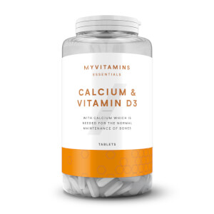 Myprotein Calcium & Vitamin D3 Tablets