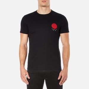 Edwin Men's Red Dot Logo 2 T-Shirt - Black