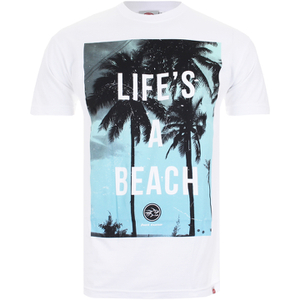 Camiseta Hot Tuna Life's A Beach - Hombre - Blanco