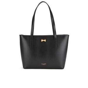 Ted Baker Women's Anaiya Micro Bow Small Shopper Tote Bag - Black