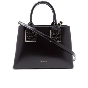 Ted Baker Women's Lolita Exotic Handle Tote Bag - Black