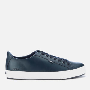 Kickers Men's Tovni Lacer Leather Trainers - Dark Blue