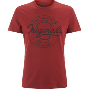 Jack & Jones Men's Originals Bone T-Shirt - Syrah
