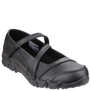 Skechers Kids' Gemz Foglights Shoes - Black