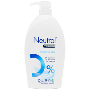 Neutral 0% Shower Gel - 1L: Image 1