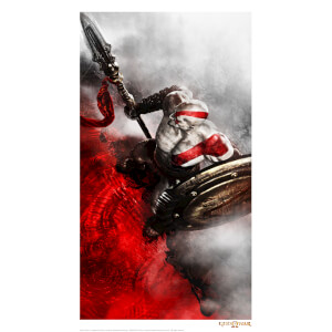God of War Limited Edition GICLEE Art Print - Timed Sale