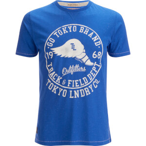 Tokyo Laundry Men's Reeves Point T-Shirt - Federal Blue