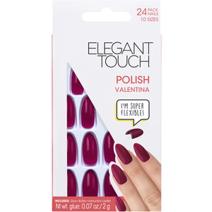 Elegant Touch Polished Nails Glamour Collection - Valentina