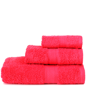Restmor Knightsbridge 100% Egyptian Cotton 3 Piece Towel Bale Set (500gsm) - Red