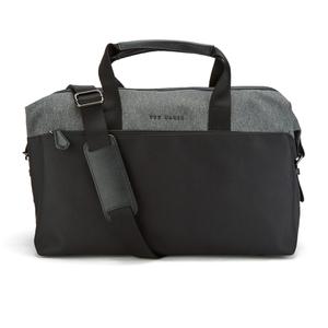 Ted Baker Men's Wood Nylon Holdall Bag - Charcoal