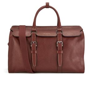 Ted Baker Men's Shalala Leather Holdall Bag - Tan
