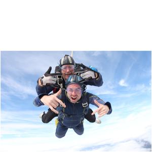 Tandem Skydive near London
