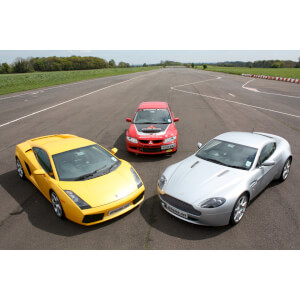 Brands Hatch Triple Supercar Driving Blast with Passenger Ride