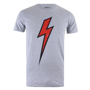 Flash Gordon Herren Flash T-Shirt - Grau Marl
