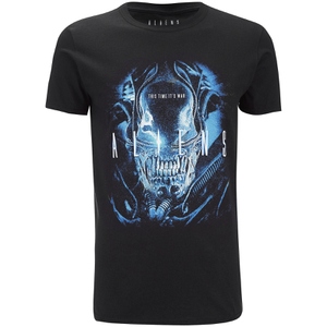Aliens Mens This Time Its War T-Shirt - Zwart